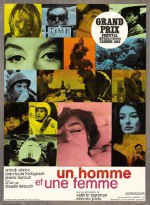 """Ciné-club : """"Un Homme et une Femme"""" @ Espace culturel Les 26 Couleurs   Saint-Fargeau-Ponthierry   Île-de-France   France"""