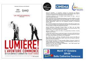"""LA26C aiment! """"Lumière! L'aventure commence"""" Projection du film @ Espace Culturel Les 26 Couleurs   Saint-Fargeau-Ponthierry   Île-de-France   France"""